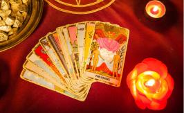Divination using Tarot cards
