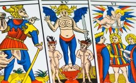 22 major arcana of tarot The Unnamed - Tarot of Marseille